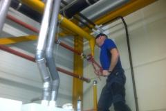 Hoofdgasleiding ketelhuis veranderen